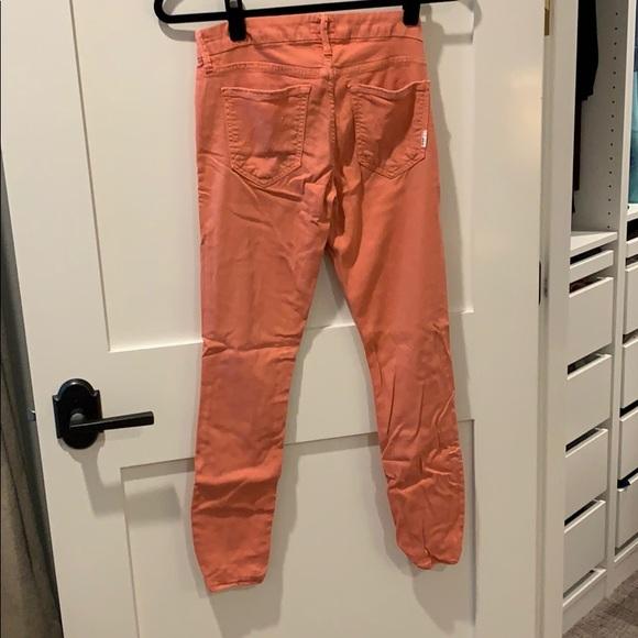 MOTHER Denim - Coral MOTHER jeans